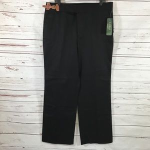 Ralph Lauren Dress Pants Black Career Size 16